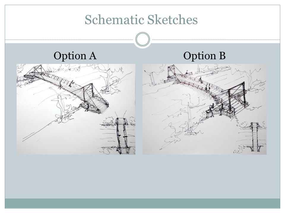 Schematic Sketches Option AOption B