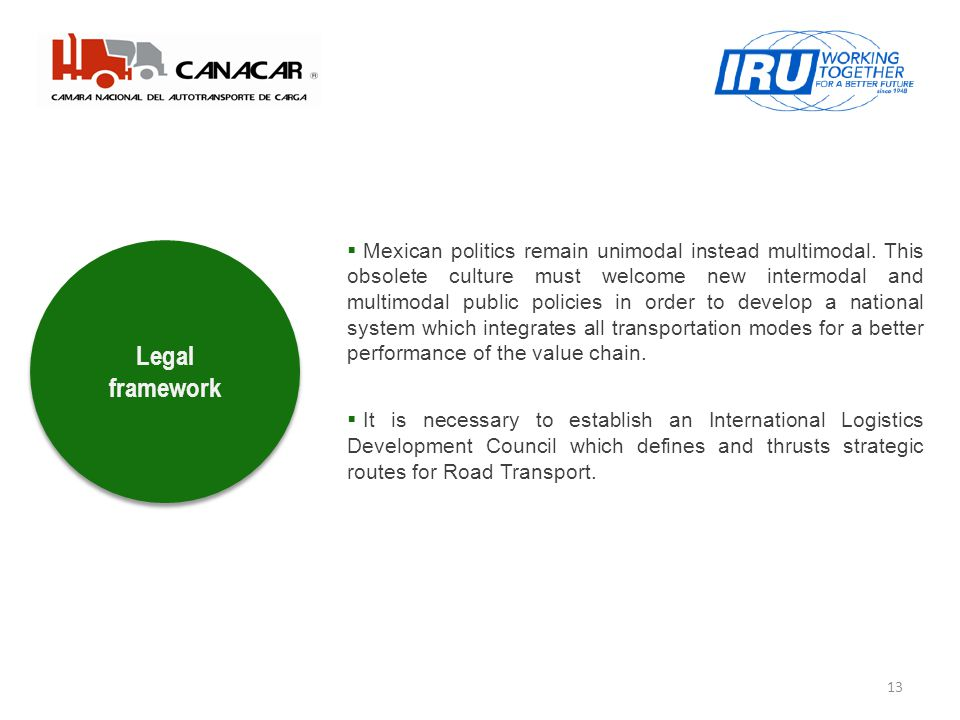13 Legal framework Mexican politics remain unimodal instead multimodal.