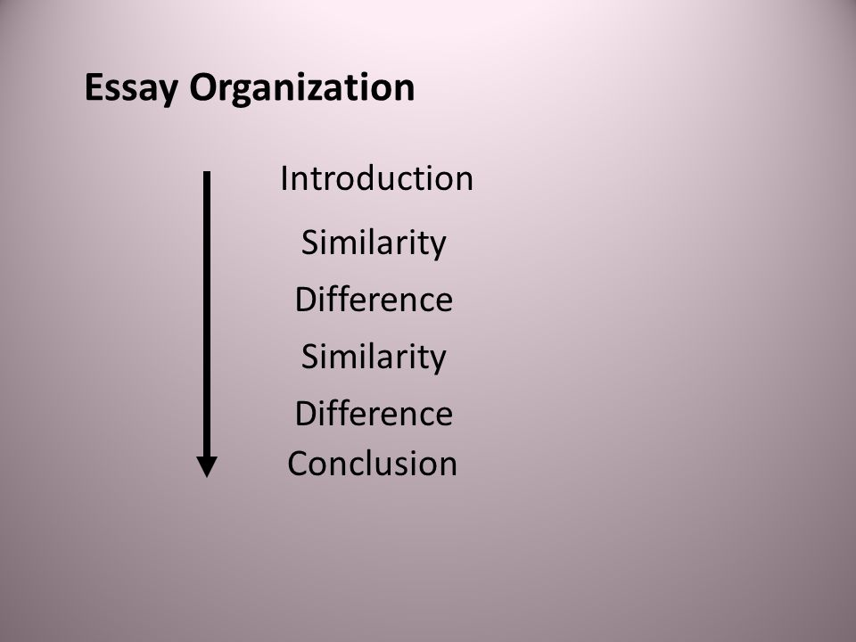 A Short Essay Adapted from page 116 in Effective Academic Writing 2: The Short Essay Point by Point Organization
