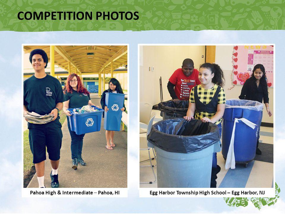 COMPETITION PHOTOS Pahoa High & Intermediate – Pahoa, HIEgg Harbor Township High School – Egg Harbor, NJ