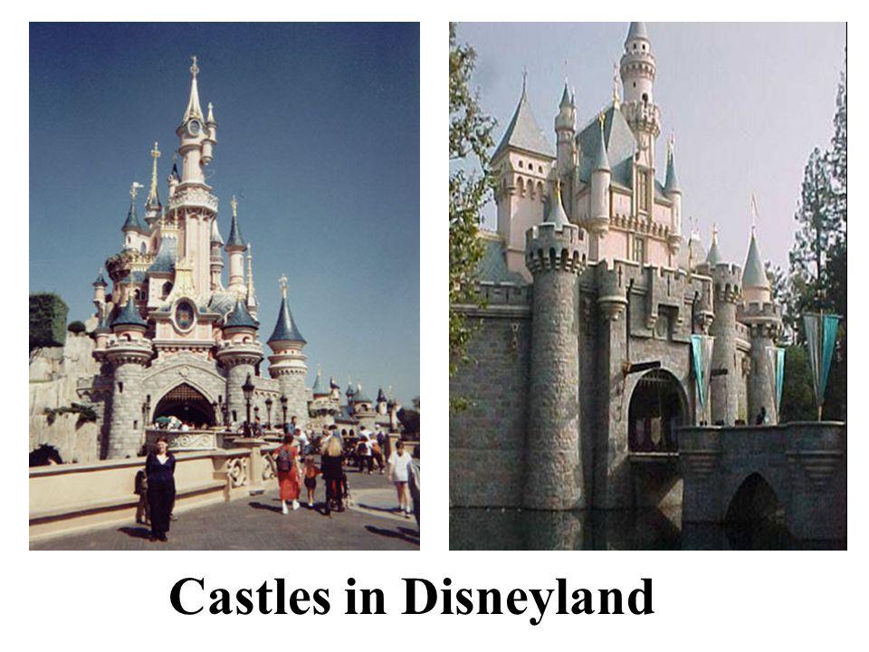 Castles in Disneyland