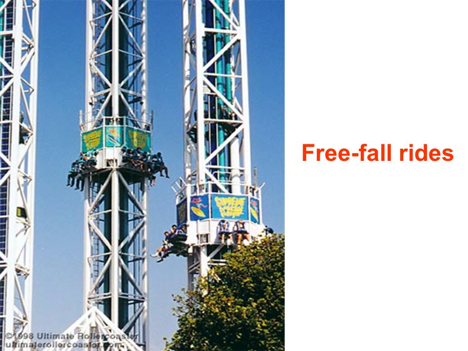 Free-fall rides