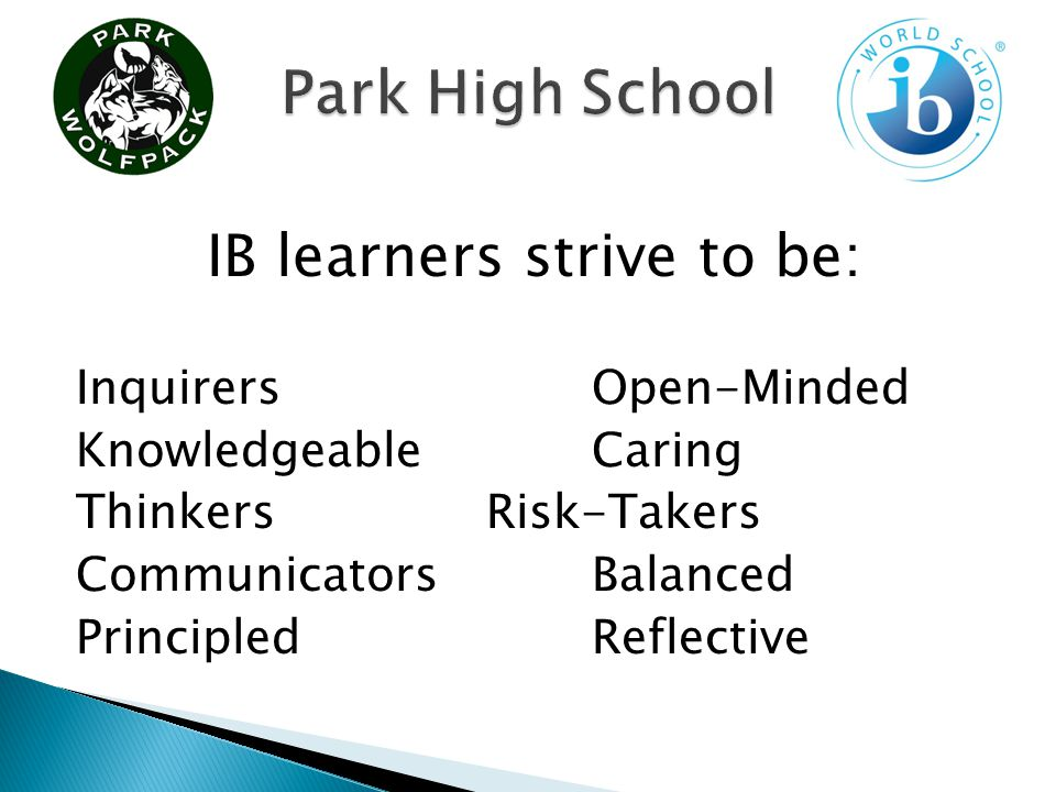 IB provides opportunities to students in two ways.