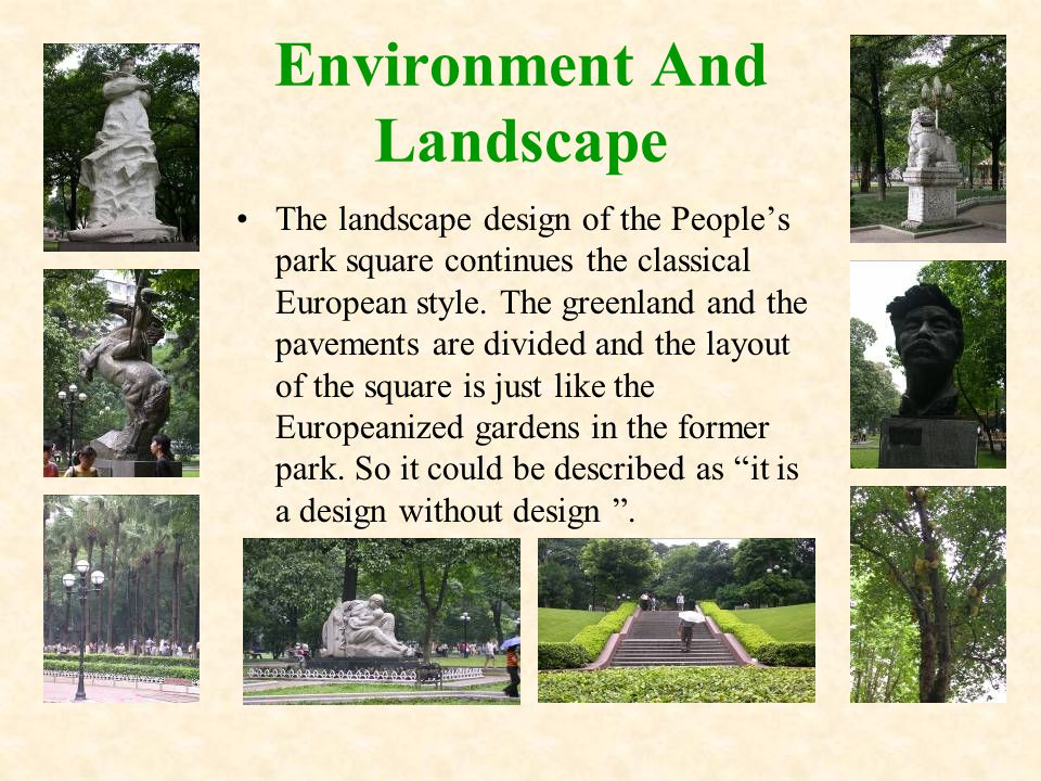 The whole park seize hold of an area of 48400 square meters.