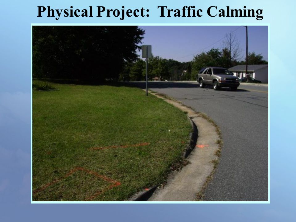 Physical Project: Traffic Calming