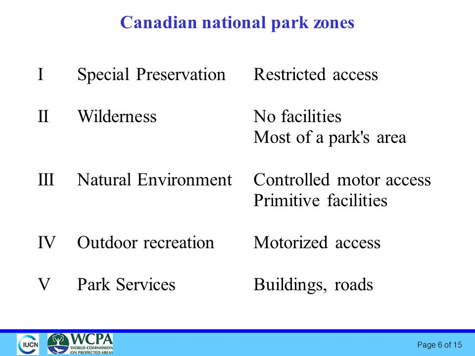 Page 7 of 15 Lighting zones for protected areas.