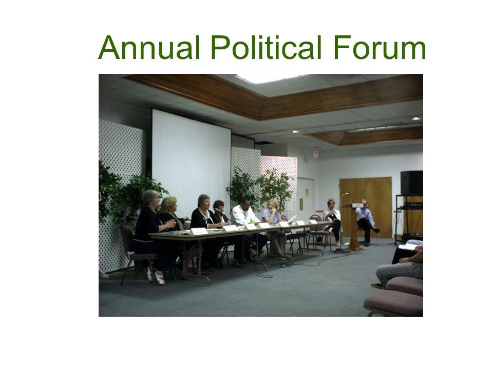 Annual Political Forum