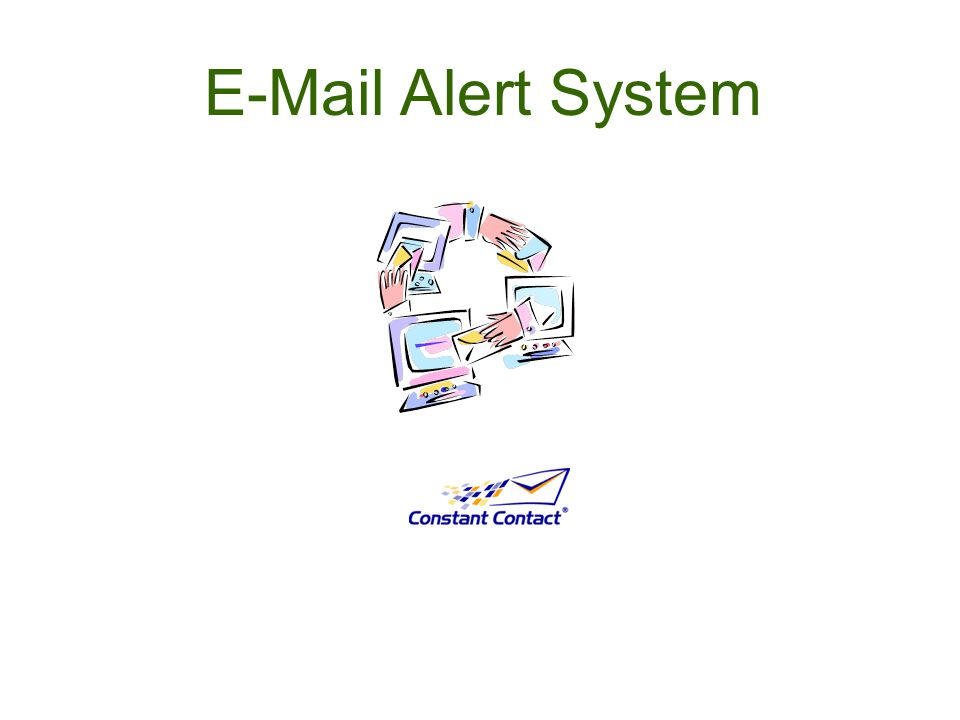 E-Mail Alert System