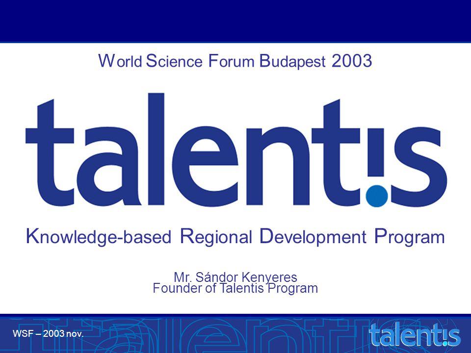 WSF – 2003 nov. Mr.