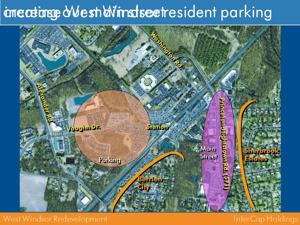 InterCap HoldingsWest Windsor Redevelopment where do we park.