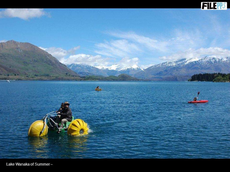 Mount Cook of summer –