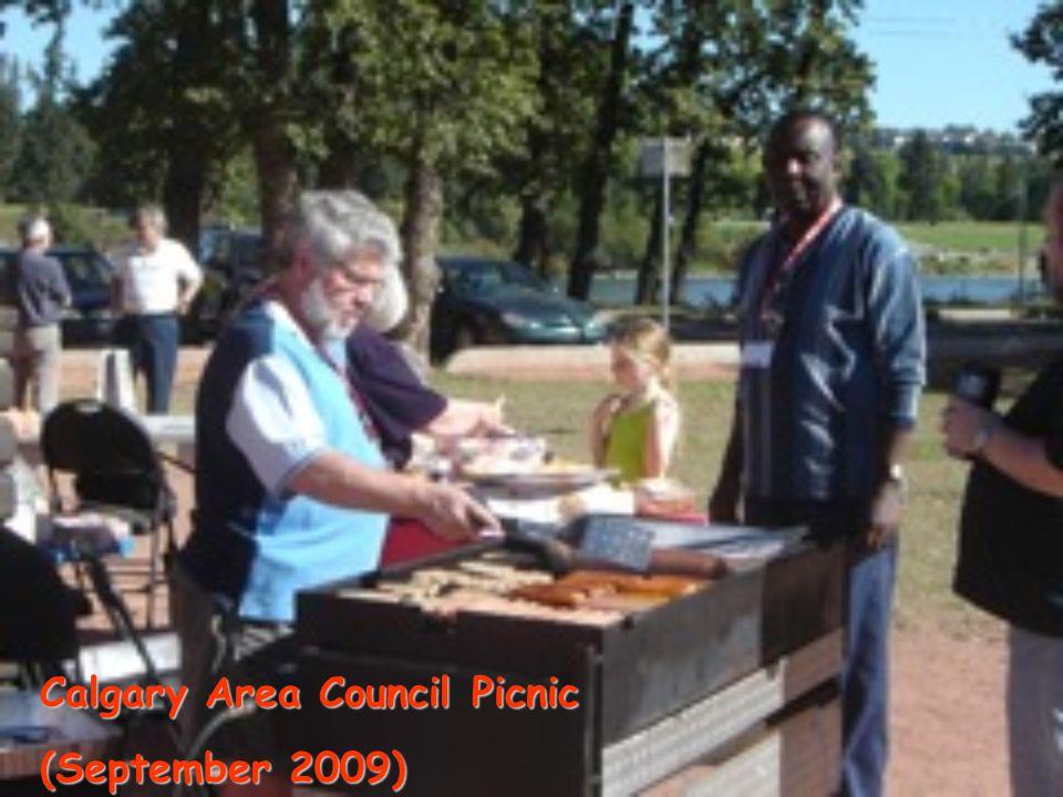 Calgary Area Council Picnic (September 2009)