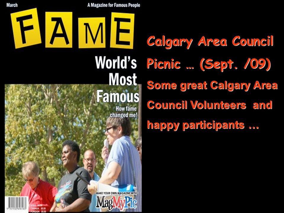 Calgary Area Council Picnic … (Sept.
