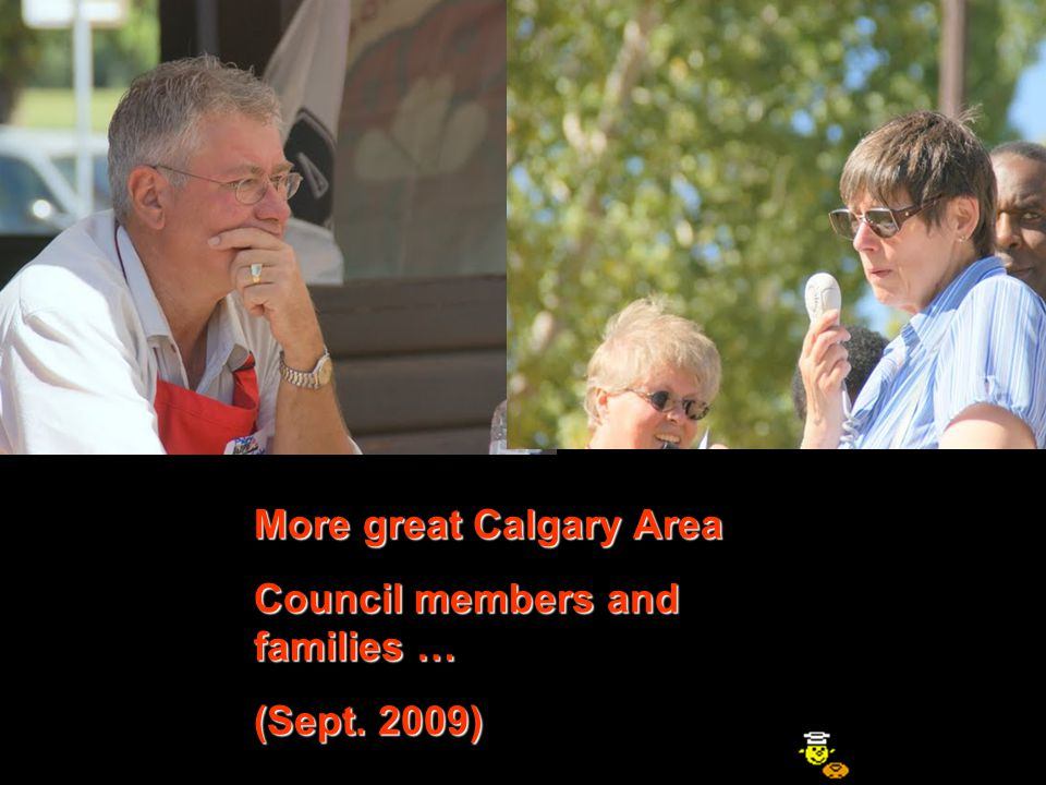 Please also visit the AREA COUNCILS table to pick up some additional information on the Calgary Area Council (Where Fun is Number One!) and other AUPE Area Councils !