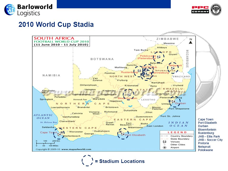 Saturday July 10 th – 3 rd Place Play-off 20h30 Affected Areas: PE, Sidwell
