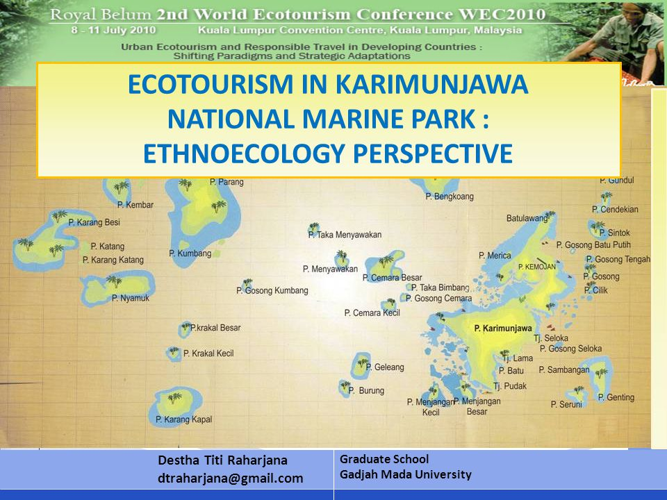 Karimunjawa archipelago in north of Semarang city, Central Java, Indonesia, is very potential for marine tourism.