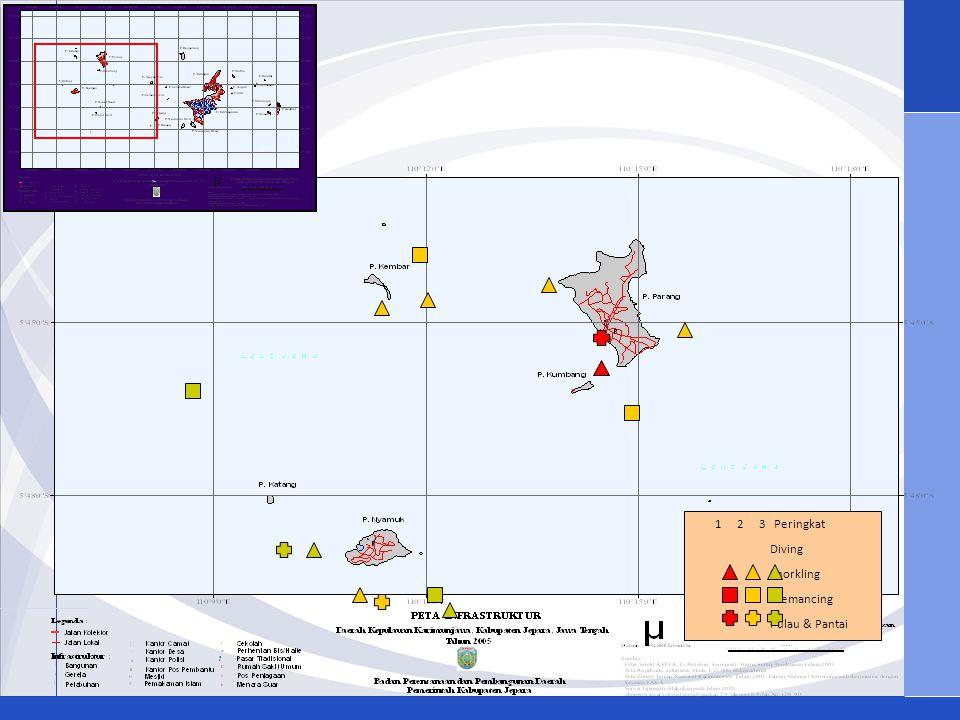 1 2 3 Peringkat Diving Snorkling Memancing Pulau & Pantai