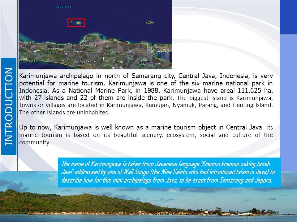 How to Get There From Jakarta, Karimunjawa can be reached by domestic flights served by Garuda Airways, Mandala Airlines, Lion Air, Sriwijaya Air and Batavia Air to Semarang.