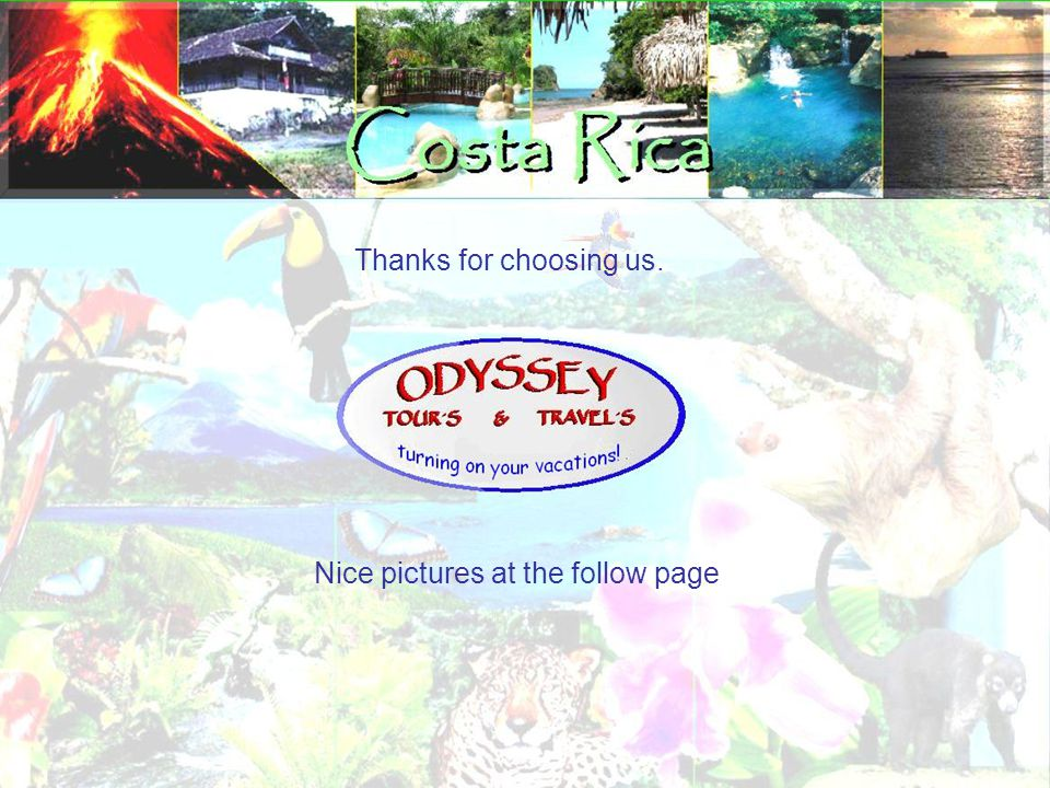 Thanks for choosing us. Nice pictures at the follow page