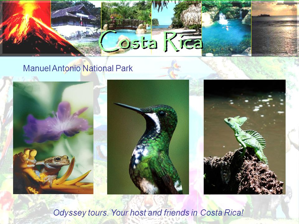 Manuel Antonio National Park Odyssey tours. Your host and friends in Costa Rica!