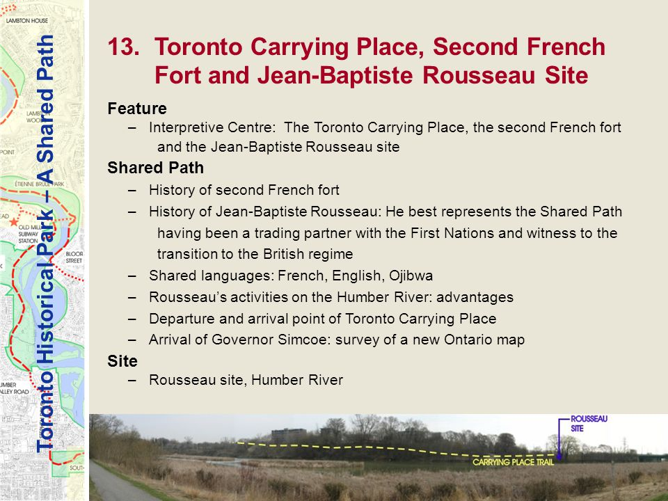 Toronto Historical Park – A Shared Path 13.
