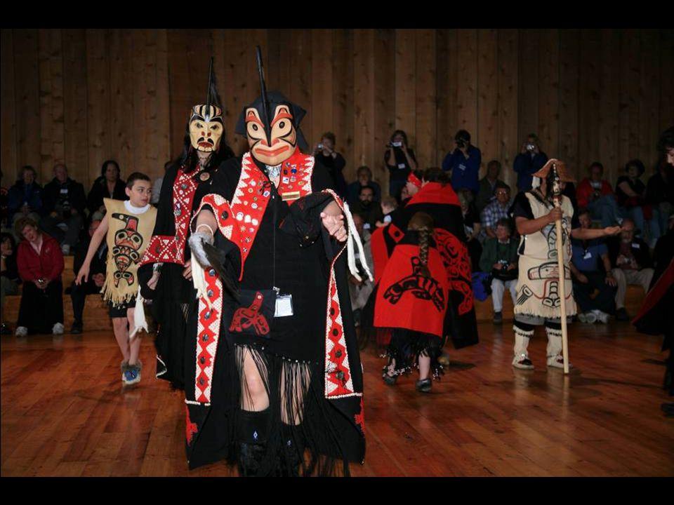 Metlakatla, Alaska: Native dance performance.