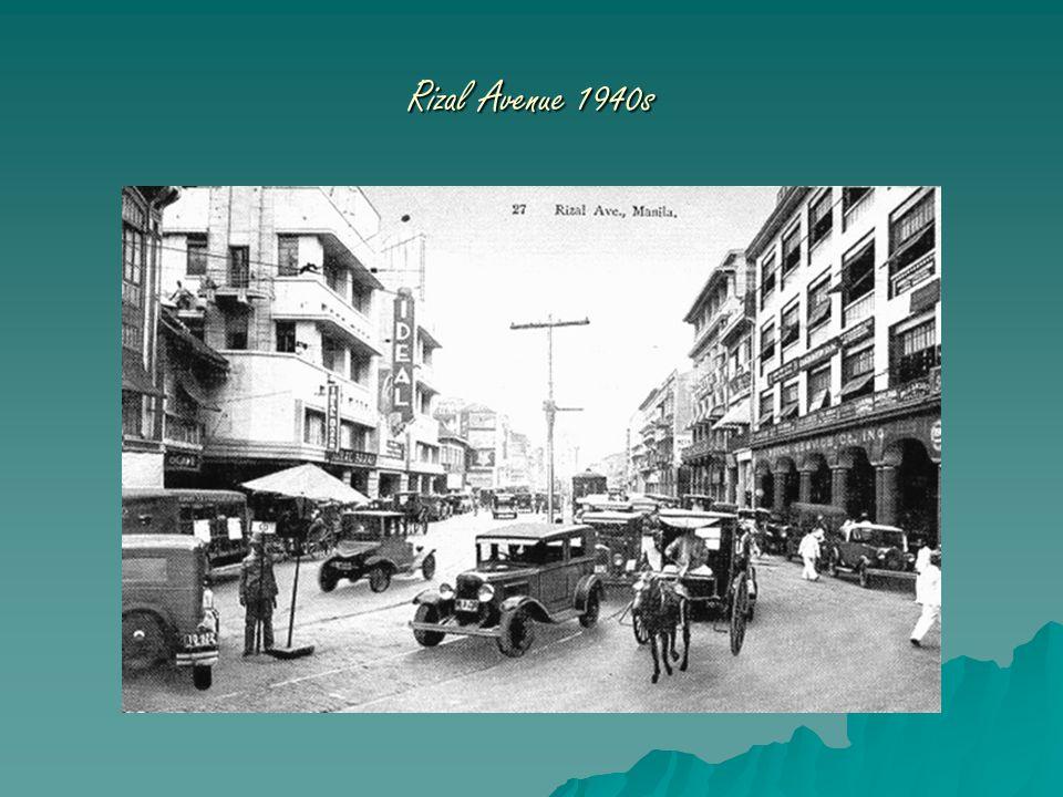Rizal Avenue 1940s