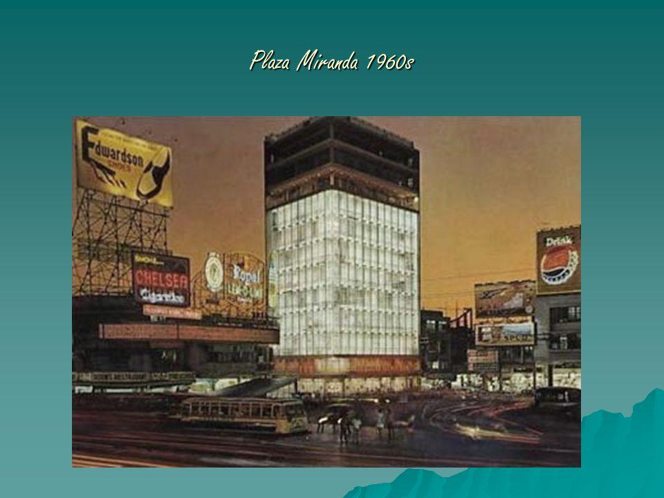 Plaza Miranda 1960s