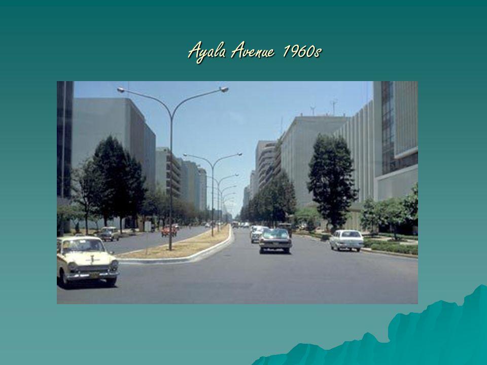 Ayala Avenue 1960s