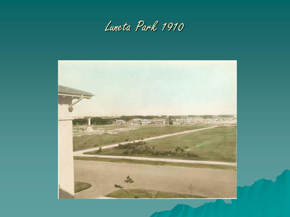 Luneta Park 1910