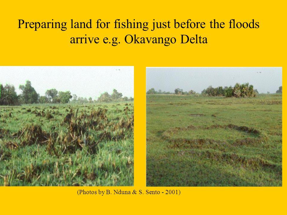 Botswana: Vegetation biomass 1997/8 growing season – based on NOAA AVHRR NDVI data T. Ntabeni, 2000