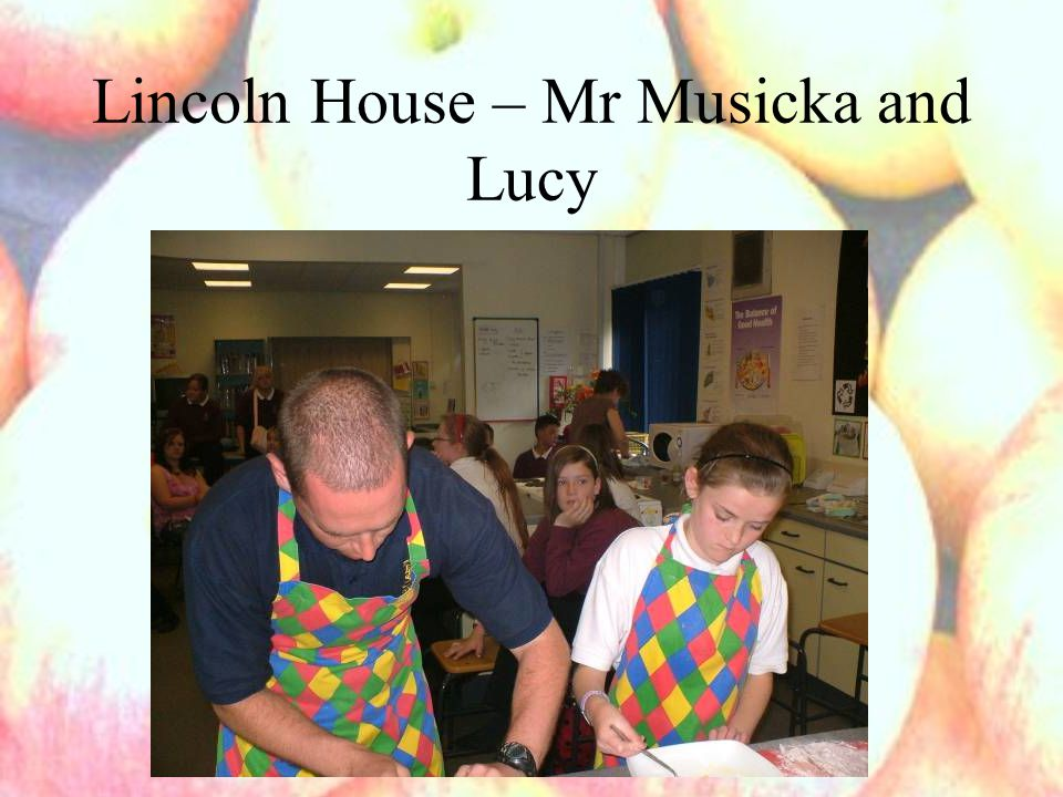 Lincoln House – Mr Musicka and Lucy