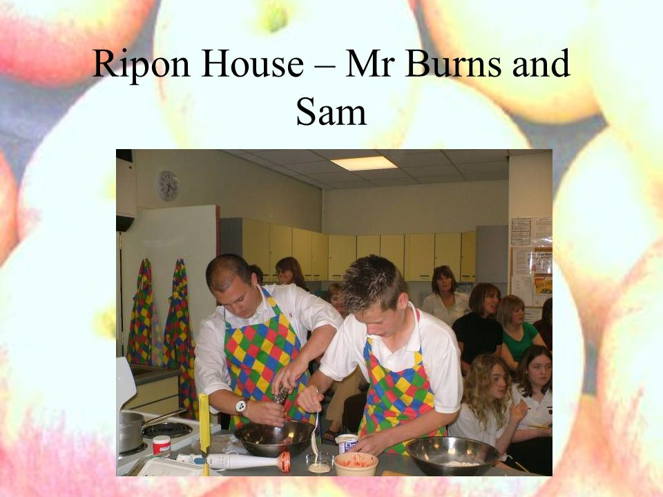 Ripon House – Mr Burns and Sam