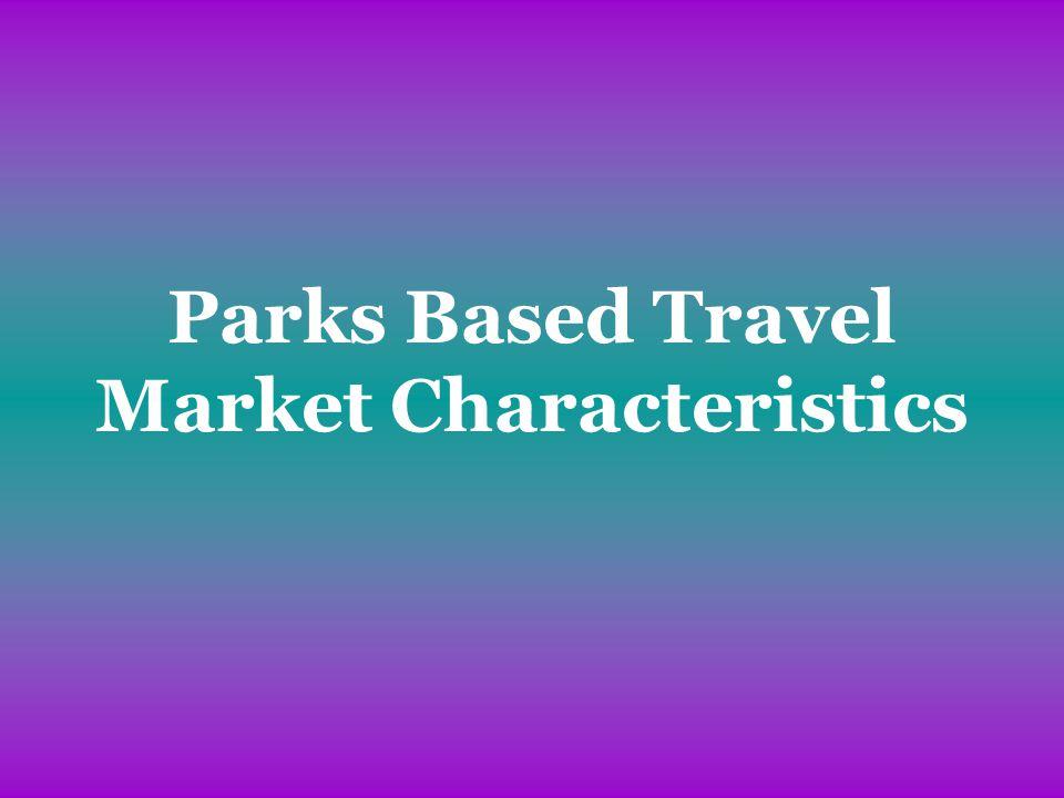 Parks Based Travel Market Characteristics