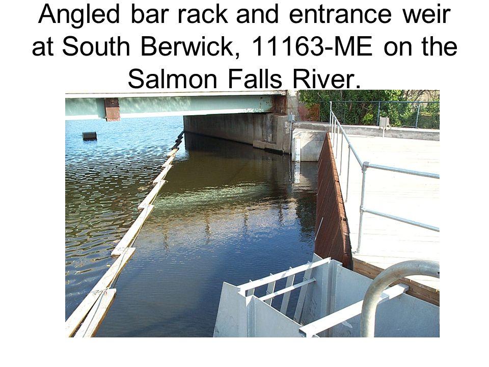 Trashrack overlay at the Lakeport project, 6440-NH on the Winnepesaukee River. Trashrack Overlay
