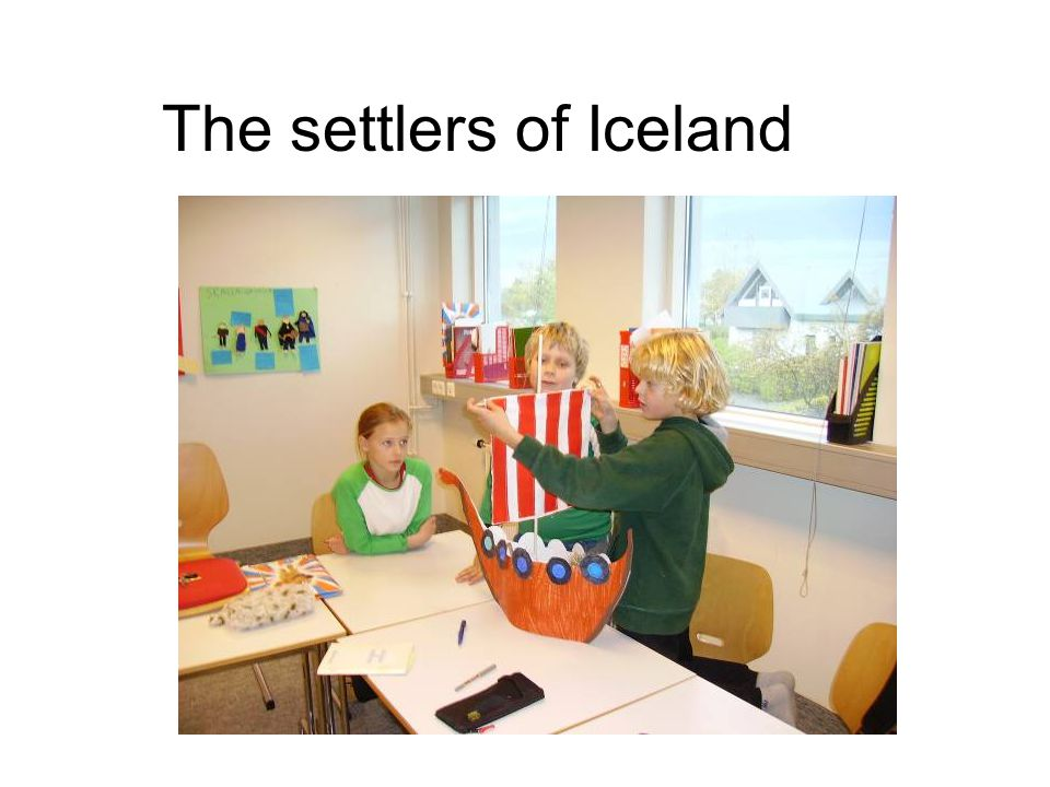 The settlers of Iceland