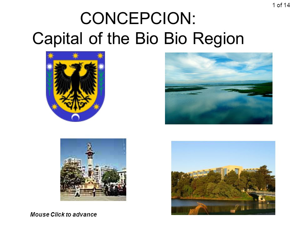 CONCEPCION: Capital of the Bio Bio Region 1 of 14 Mouse Click to advance