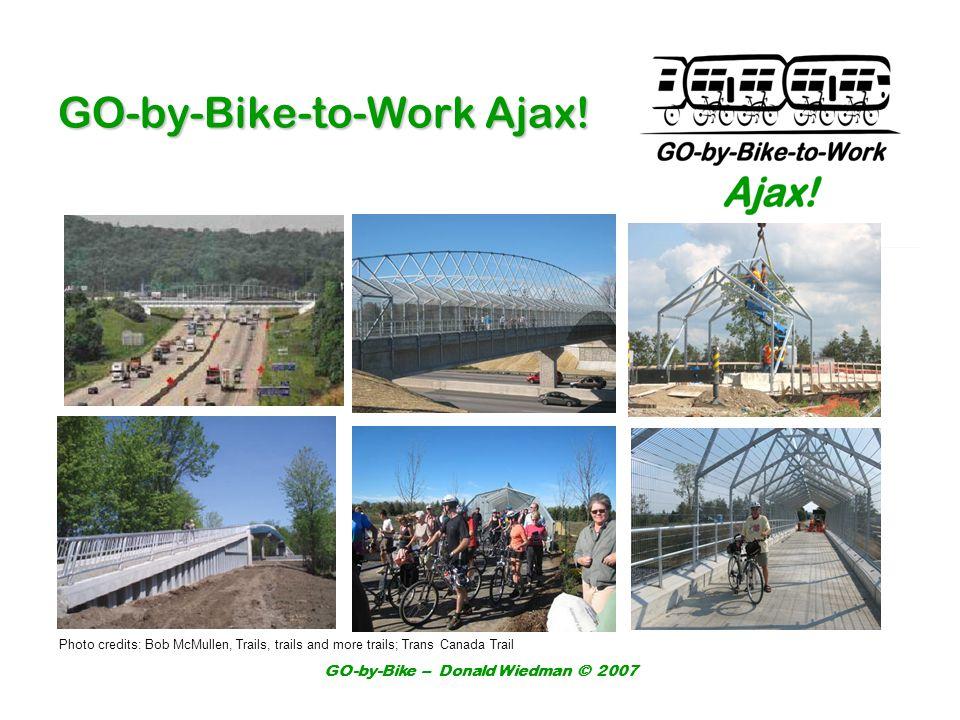 GO-by-Bike – Donald Wiedman © 2007 GO-by-Bike-to-Work Ajax.