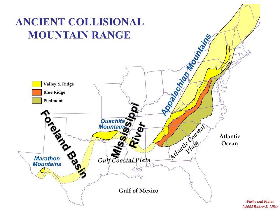 Marshak, EARTH (Norton, 2005) Southern Appalachian Mountains Parks and Plates ©2005 Robert J.