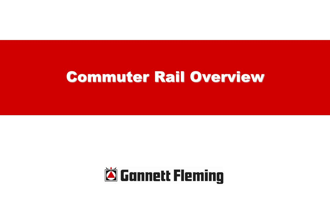 Commuter Rail Overview