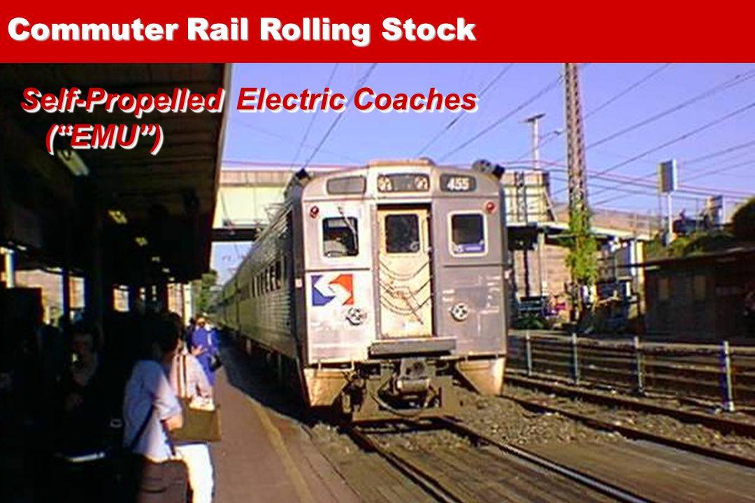 17 Self-Propelled Electric Coaches (EMU) Commuter Rail Rolling Stock