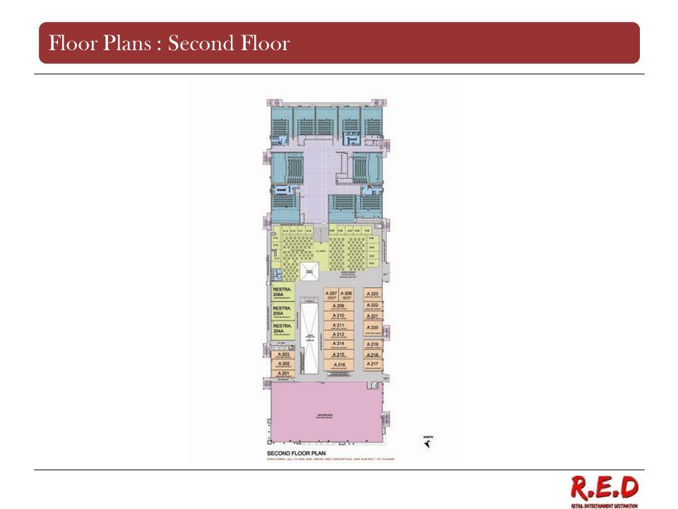 Floor Plans : Second Floor