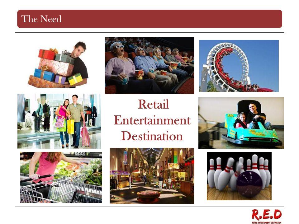 Retail Entertainment Destination The Need