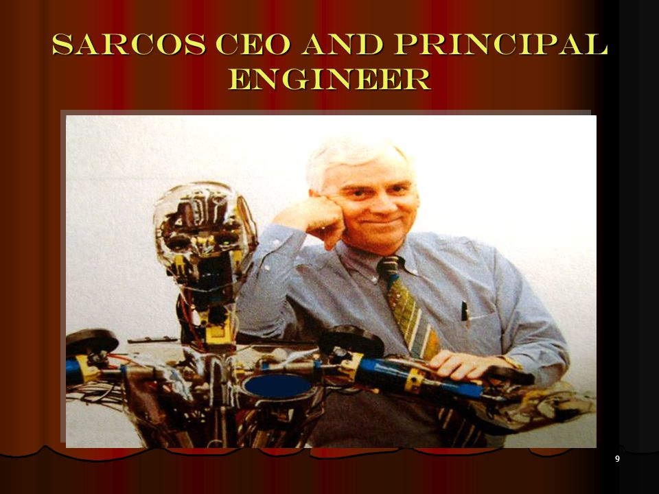 9 Sarcos ceo and principal engineer