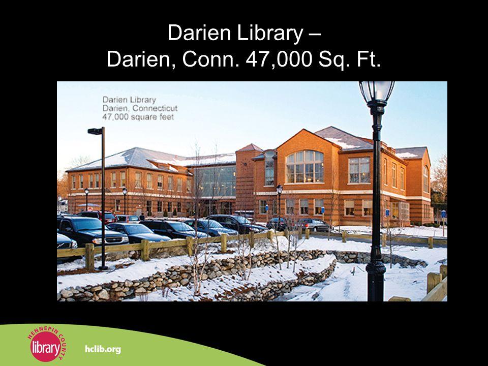 Darien Library – Darien, Conn. 47,000 Sq. Ft.