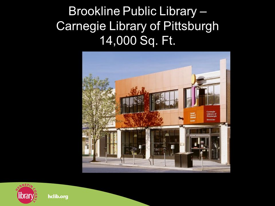 Brookline Public Library – Carnegie Library of Pittsburgh 14,000 Sq. Ft.