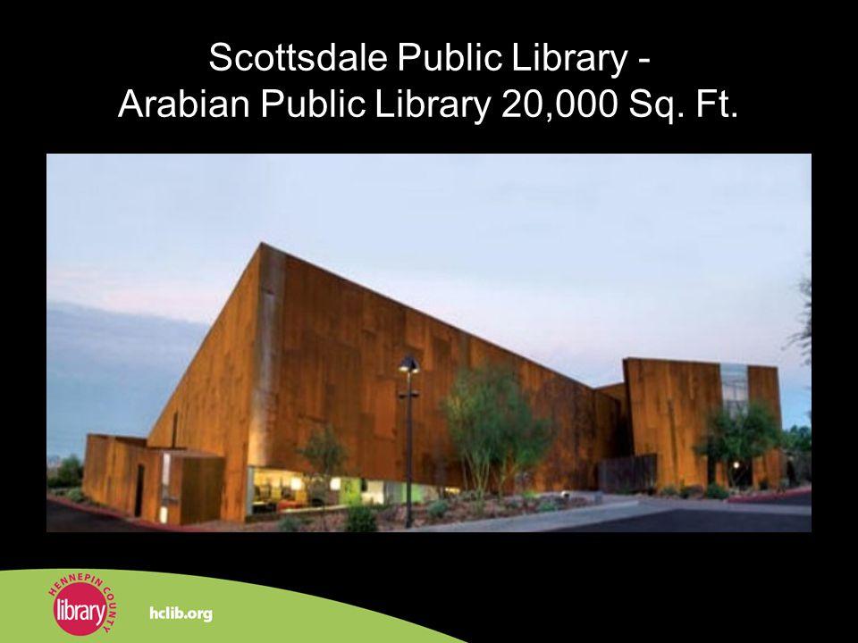 Scottsdale Public Library - Arabian Public Library 20,000 Sq. Ft.