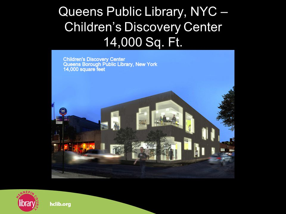 Queens Public Library, NYC – Childrens Discovery Center 14,000 Sq. Ft.
