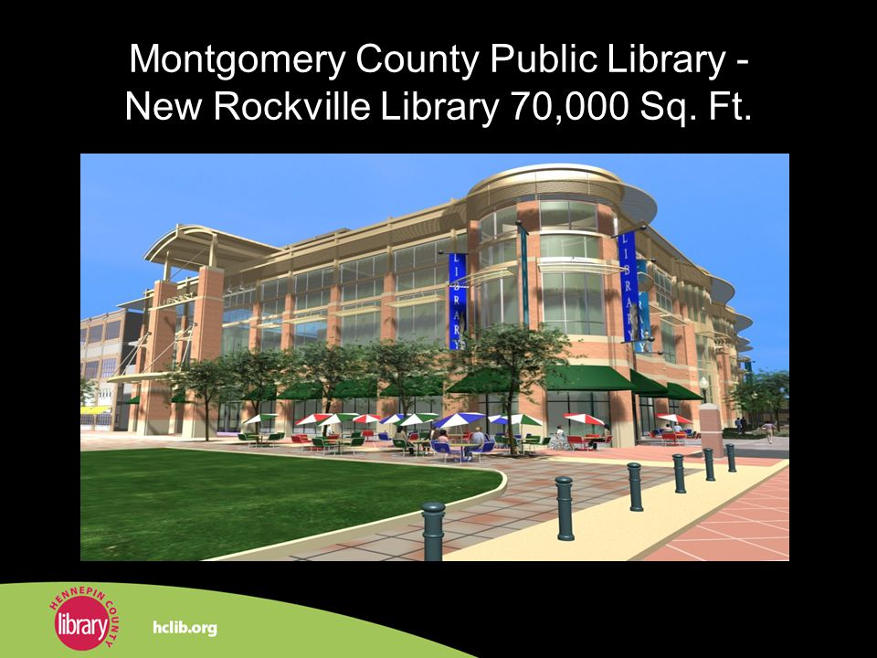 Montgomery County Public Library - New Rockville Library 70,000 Sq. Ft.