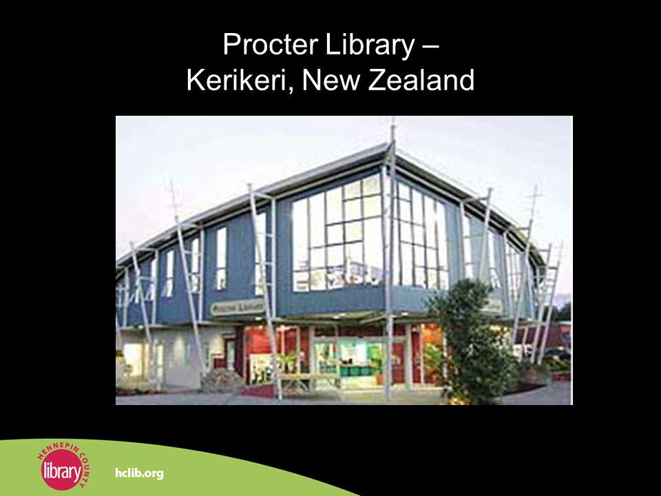 Procter Library – Kerikeri, New Zealand